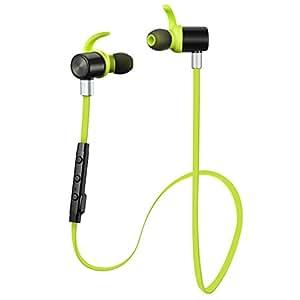 VicTsing Casque sans fil Bluetooth 4.1Sport Stéréo bruit Headphones Écouteurs intra-auriculaires avec APT x/Mic pour iPhone 7, 7S, 6, 6S et Android Phones