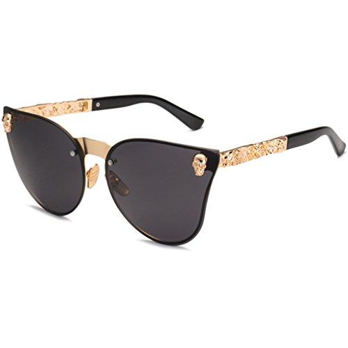 kaikaiwang polarisierte sonnenbrille für männer polarisierte sonnenbrille für männer (1 para) Shantou fashion sonnenbrille - C2 gold frame grey tablets