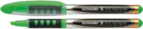 Schneider Xtra 140 Textmarker (Liquid-Ink-System, Keilspitze, Strichstärke 1 - 4 mm) 10er Packung...