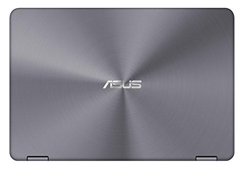 """[Ancien modèle] Asus Zenbook UX360CA-C4017T PC portable Tactile 13.3"""" FHD Argent (Intel Core M, 4 Go de RAM, SSD 128 Go, Windows 10)"""