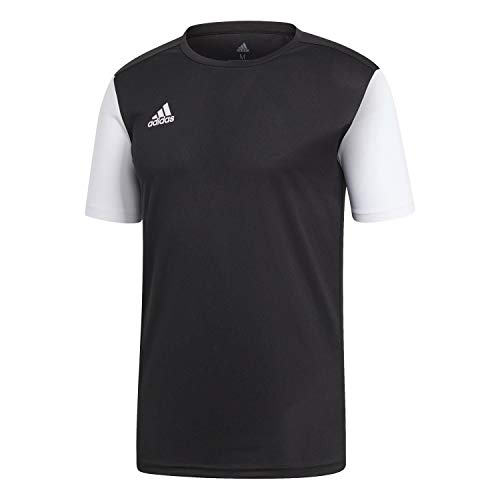 adidas Estro 19 JSY Maillot Homme, Noir, FR : S (Taille Fabricant : S)