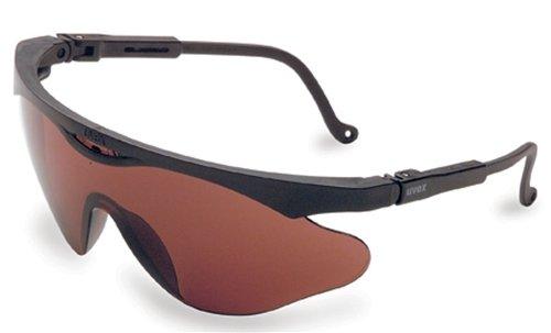 Uvex S2813X Skyper X2 Safety Eyewear, Black Frame, SCT-Gray UV Extreme Anti-Fog Lens by Uvex