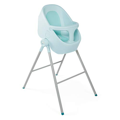 Chicco Bubble Nest - Bañera transformable con patas extraibles y asiento antideslizante, color azul...