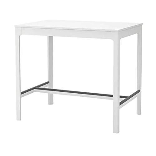 EKEDALEN IKEA Bartisch in weiß; (120x80cm)