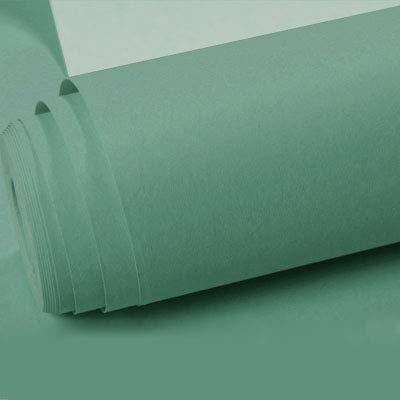 DUOCK Nordischen Stil Tapeten Home Decor Farbe silk Strukturtapete für Wände Stoff Schlafzimmer Tapete Grün Blau, 0723 Mint Green, 53 CM X 10 M