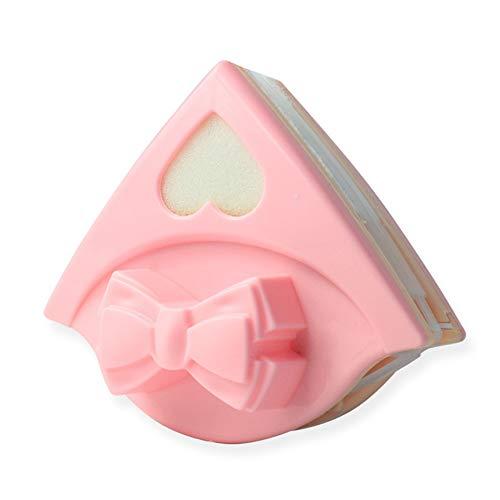 JIAO DE Fensterputzer doppelseitige magnetische Doppelschicht kreativ für innen und außen Haus Hochhaus Glas (Farbe : Rosa)