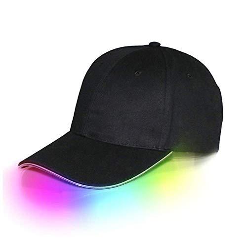 Coyzwind LED Kappe beleuchtet Cap Schildmütze Einstellbarer Hut -