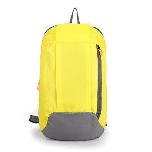 Sportreisen Damen Herren Canvas Rucksack Unisex Mädchen Jungen Taschen Canvas Tote Gelb - Mädchen Akademie-kleidung Für