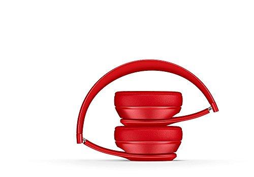 Case Wonder Ersatz Ohrpolster / Ersatzohrpolster / Ohr Polster / Kopfhörer Ohrkissen / Pads für Kopfhörer Beats by Dr. Dre Solo 2, Solo 2.0 Reparatur Teile (Rot, Kabellos) - 6