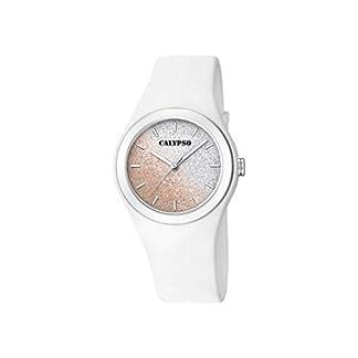 Calypso Reloj Analógico para Mujer de Cuarzo con Correa en Silicona K5754/1