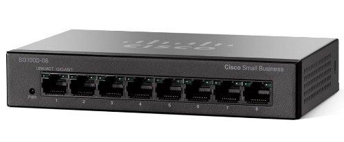 Cisco SG100D-08 Conmutador Red no administrado L2