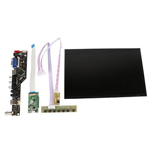 Audio-av-kit (Wearson 25,7 cm (10,1 Zoll) 1920 x 1200 LCD Panel Display Screen VGA HDMI AV Audio USB BNC TV Driver Board Controller Kit für Raspberry Pi etc.)