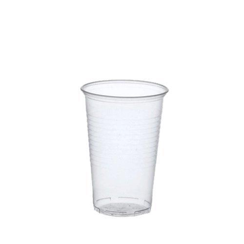 100 Trinkbecher, PP 0,3 l transparent Bierbecher Einwegbecher