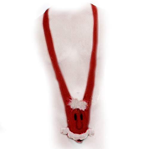 (Preis am Stiel Mankini ''Santa'' 2tlg. | Weihnachtskostüme | lustige Geschenke | Weihnachten | Weihnachtsmann Kostüm | Karneval Kostüm Herren | Fasching)