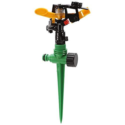 Jadeshay Sprinkler - 360 ° drehbarer Wassersprühgerät Gartenbewässerung Bewässerung Rund Rasensprinkler für den Außenbereich