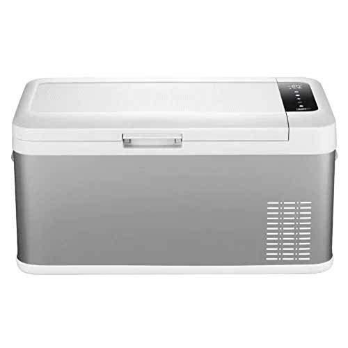 WENZHEN 18L tragbarer Kühlschrank Auto Mini-Kühlschrank mit Gefrierfach, US-Stecker