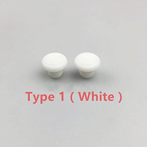 SUNNYLIFE Type 1 White: 2pcs DJI Inspire 1 Pitman Fixator Thumb Rocker Cover 3D Printed Remote Control Joystick Joypad Protector for DJI Phantom 4 3 2 1