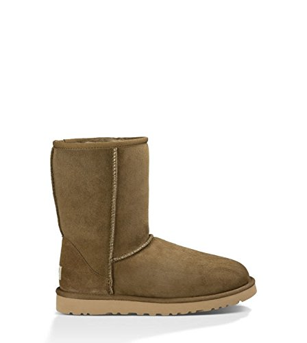 UGG Classic Short - Botas para Mujer, Color Dry Leaf, Talla 36
