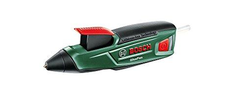 Bosch Pistolet à colle sans fil GluePen avec 4 tubes de colle et chargeur 06032A2000