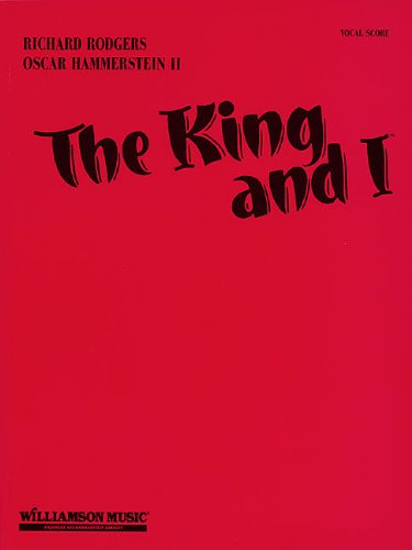 Rodgers And Hammerstein The King And I (Vocal Score) Vce