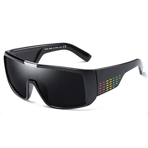 (Der Geschmack von zu Hause Herren-Sport-Sonnenbrillen Radfahren Brillen Outdoor-Sonnenbrillen DOMO Sonnenbrillen (Farbe : #1))