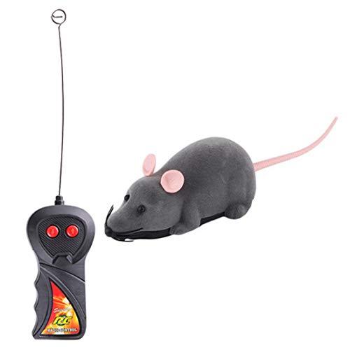 ihen-Tech Wireless RC Ratte Mäuse Katzenspielzeug Fernbedienung Maus Lustige Spielen Neuheit Maus Spielzeug Für Hund