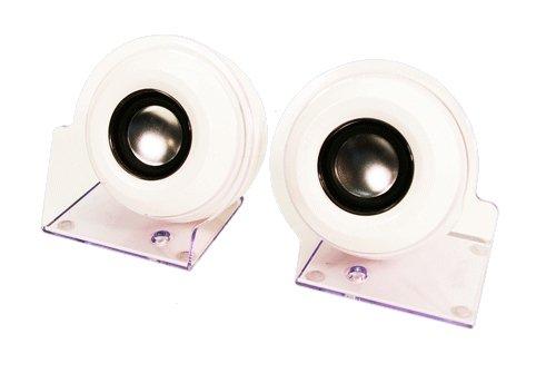 LogiLink Stereo Aktiv-Lautsprecher 2.0 USB, weiß