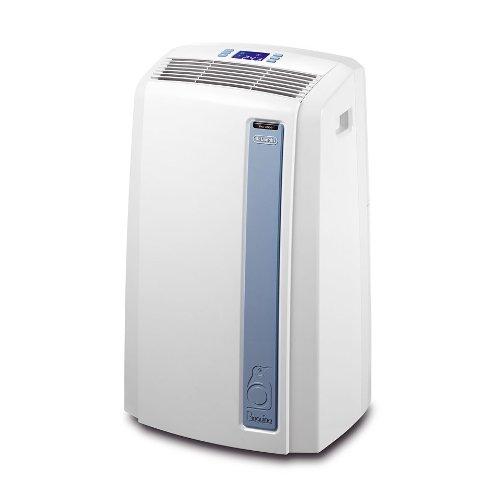 De'Longhi Pinguino PAC AN97 Climatizzatore Portatile, 63 dB, 2700 W, 10700 BTU/h, Bianco/Grigio
