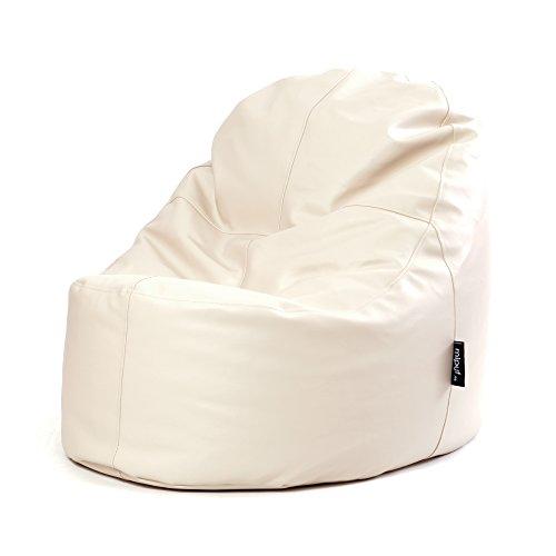 MiPuf - Puff Lounge Original - 80x115x90 cm - Tejido Polipiel Alta Res