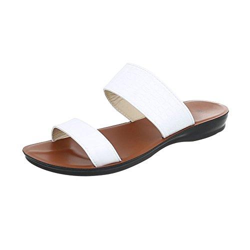 Sandali bianchi per donna Ital Design KwlCFSzO0j