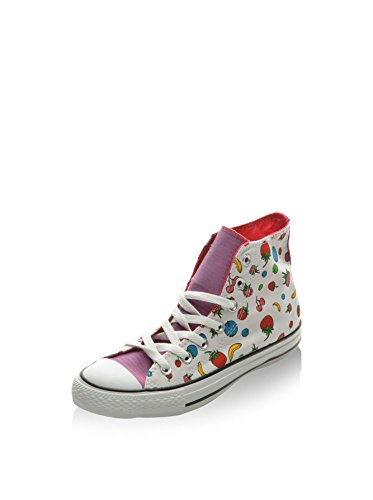Converse - Converse All Star Ct As Hi Couleur Fruits Chaussures Blanc Femme Toile 131080c Multicolore