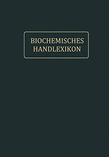 Forschung Aminosäure (Biochemisches Handlexikon)