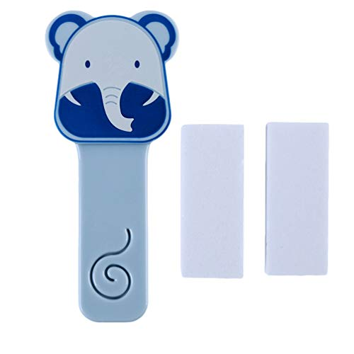 BUHBU Cartoon Toilettendeckel Sitzbezug Lift Lift Griff Stick Touch Toilettendeckel Haushalt (Blau)