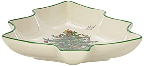 Spode Christmas Tree Shaped Dish by Spode