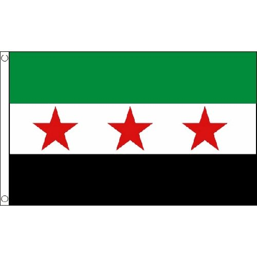 3' Rebel Flag (Old Syrien Rebel (nationaler) Flagge 1.52 X meters 0.91 syrischen Rebel Banner neue meters)