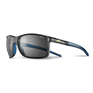 Julbo Men's Arise Sunglass, Translucent Black/Blue, One Size