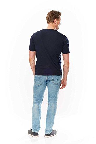 Kitaro Herren T-Shirt Navy