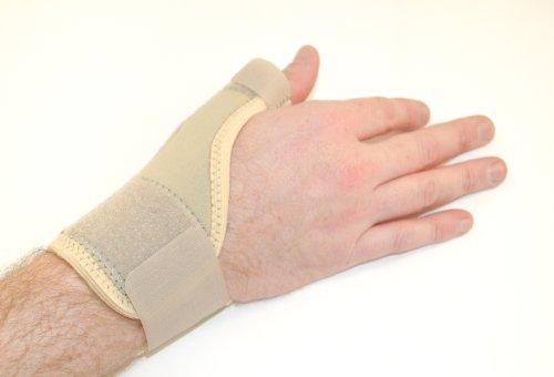 BodyTec Medizinische Daumenschiene gebrochenes weiß cremefarben Small 1416.2cm Picture