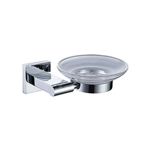 Ss Base (Bathroom Accessories Badaccessoires Sets Europäischen ssischen Chrom Bad Anhänger Square Base Dünnes Handtuch Seife Kasten, Seifenschale)