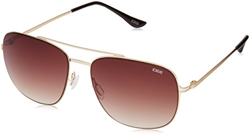 IDEE Gradient Square Men's Sunglasses - (IDS2064C4SG|57 Brown Gradient lens) image