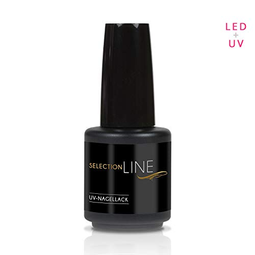 N & BF Selection Line & UV LED Vernis à ongles top coat - Colles Gel - 7ml brillant - High Gloss Kit ongles gel pour dünnviskos Transparent 15 ml