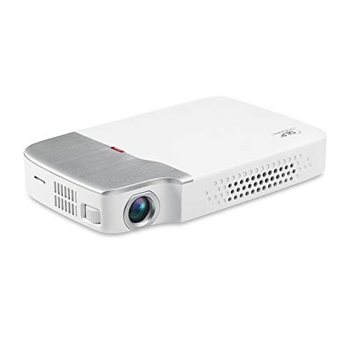 FEZBD Videoprojektor, Mini-Projektor unterstützt 1080P HD und 170 Zoll, Lebensdauer 30000 Stunden, unterstützt HDMI-VGA-VA-USB-TF, Heimkinoprojektor - Tv Combo Dvd Und