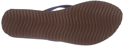 flip*flop Goldflower High, Tongs femme Bleu - Blau (032)