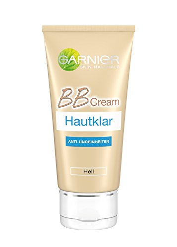 Garnier Hautklar BB Cream, Anti-Unreinheiten in Hell, All-in-One-Pflege bekämpft Pickel und...