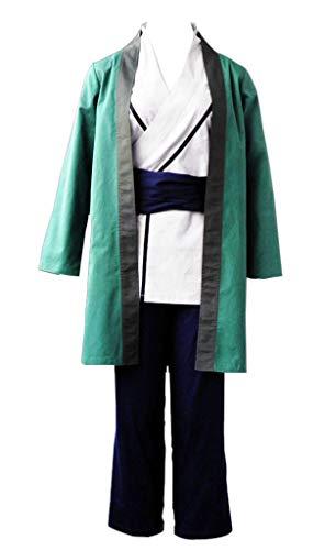 Chong Seng CHIUS Cosplay Costume Kimono Set for Hidden Leaf Village Fifth Hokage Tsunade