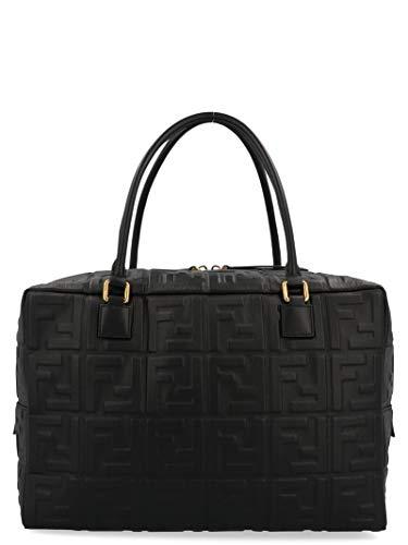 Fendi Damen 8Bl142a72vf15zw Schwarz Leder Handtaschen - Schwarz Fendi Handtaschen