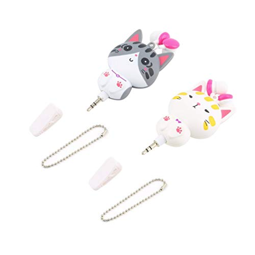 1pc Cartoon einziehbare In-Ear-Ohrhörer für Handy-Computer - Cd-player Cute