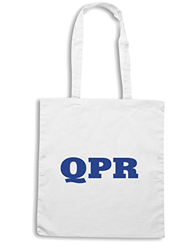 T-Shirtshock - Borsa Shopping WC0689 QUEENS PARK RANGER Bianco