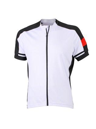 Men's Bike-T Full Zip White,L -