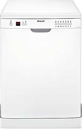 Brandt DFH12127W Autonome 12places A+ lave-vaisselle - lave-vaisselles (Autonome, Blanc, Blanc, boutons, 24 cm, 30 cm)
